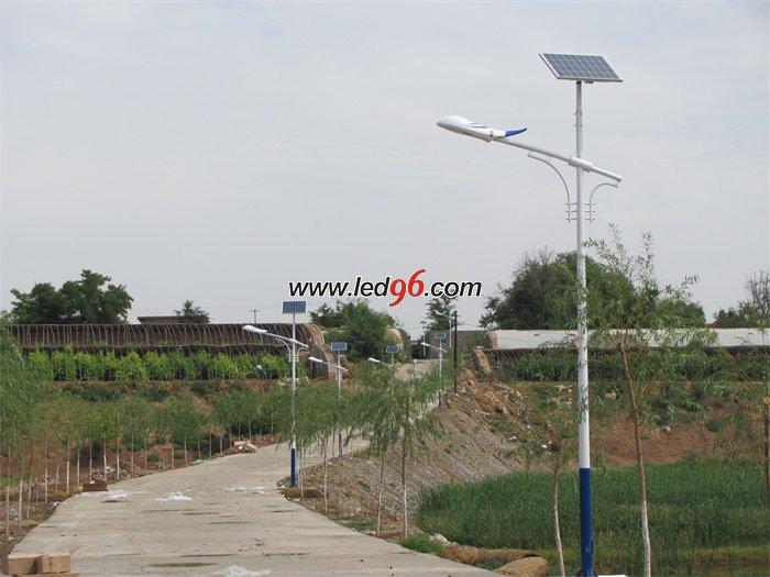 太阳能路灯组成部件